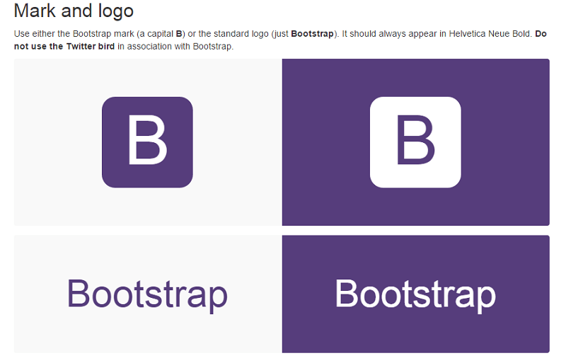 Bootstrap functions as the style guide for internal tools development