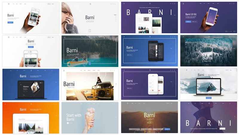 Barni For Media UI Kit