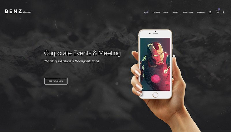 Benz - Creative Multipurpose PSD Templates