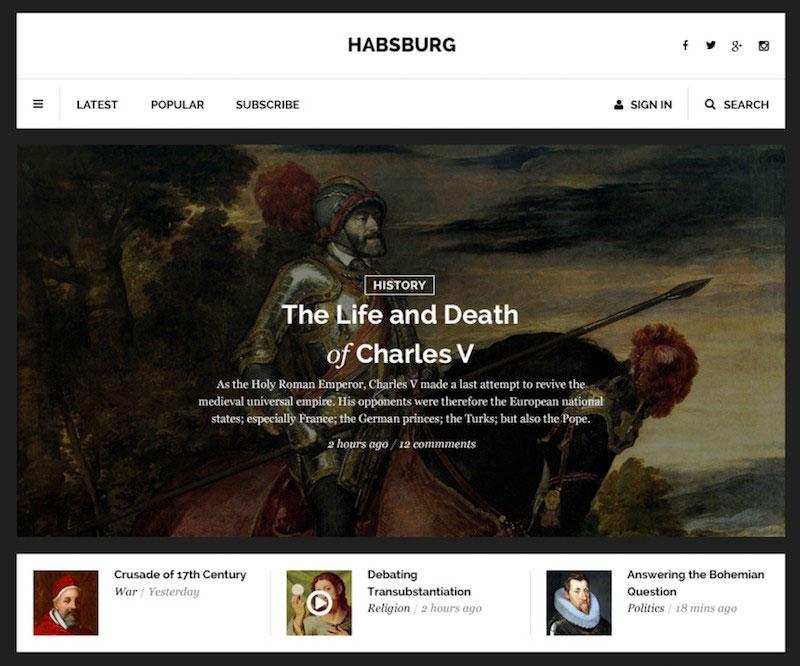 Habsburg - Clean User Interface Kit
