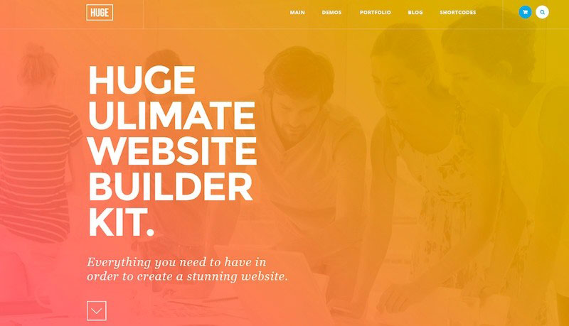 Huge Ultime Webside Builder Kit