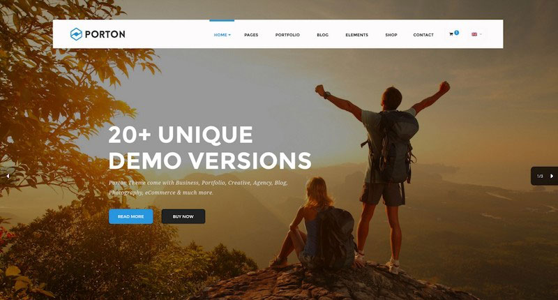 Porton - Design-Driven Multipurpose PSD