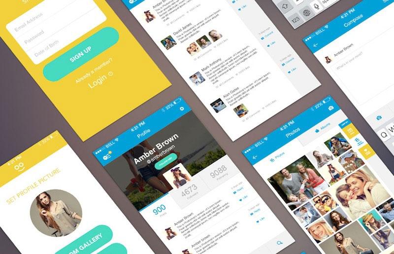 WooHoo - Mobile User Interface Kit