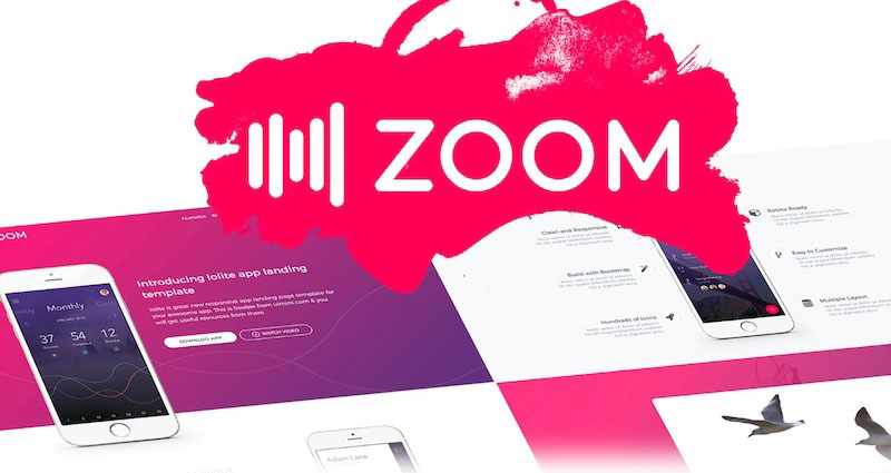 Zoom - Vectory Objects Colorful UI Kit