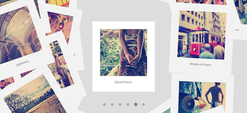 Scattered-Polaroids-Gallery-jQuery-slider