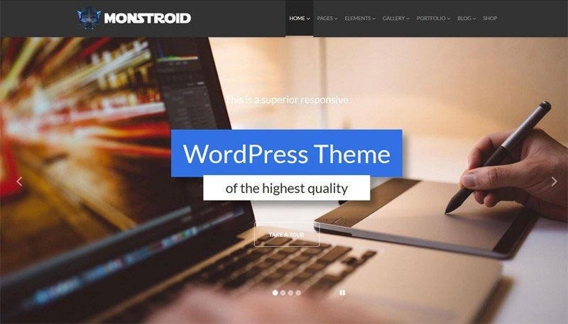 Monstroid Responsive Multi-purpose WordPress Theme