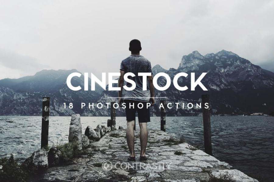 Cinestock Photoshop Action Bundle Contrastly