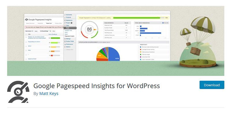 Google Pagespeed Insights for WordPress