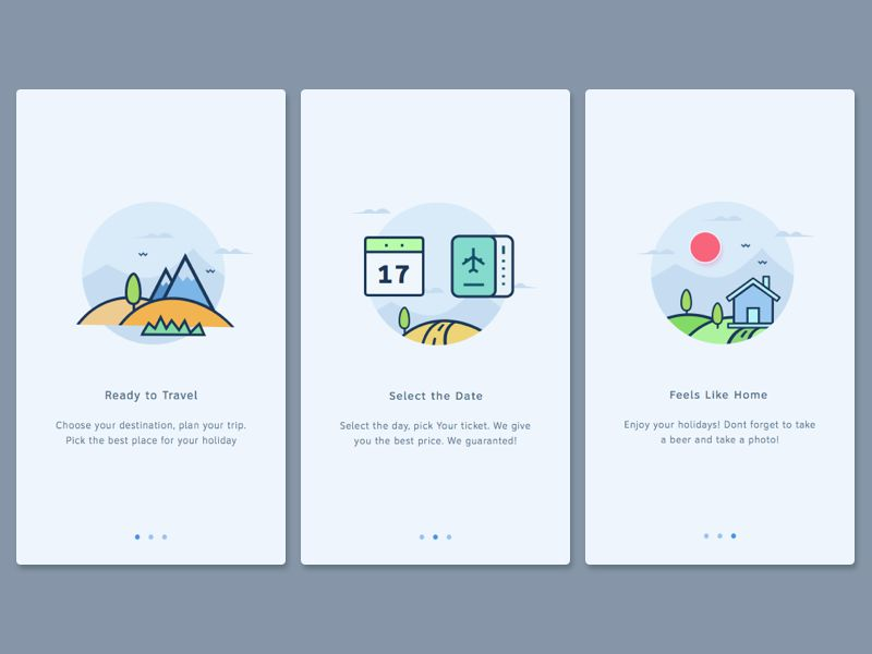 Onboarding Examples For Web Designer