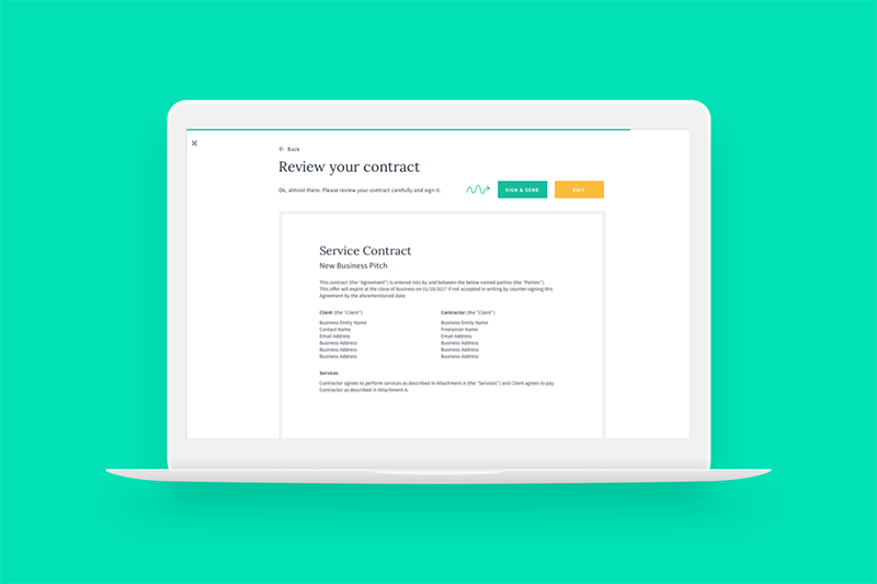 The Standard Freelance Contract by AND CO