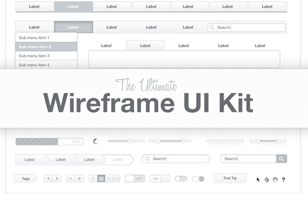10 Best Free Wireframe Kits To Speed Up Your Design