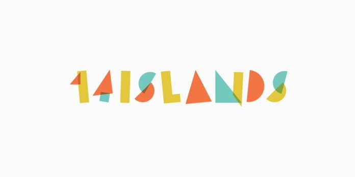 colorful logo design 14 Islands
