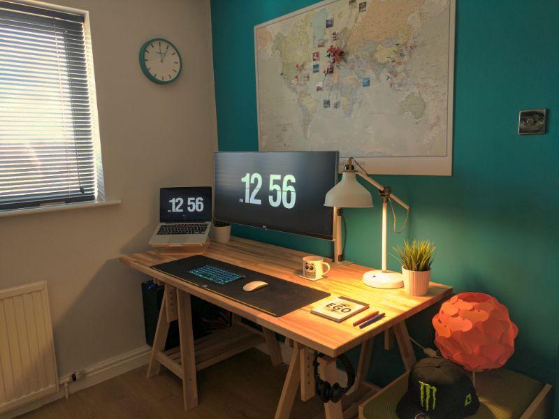 designer workspace