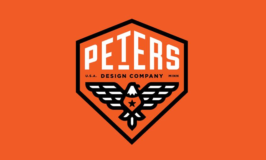 Peters Design Co Eagle Badge Revised