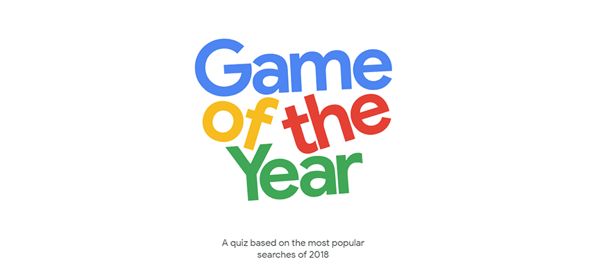 Google's Game of the Year