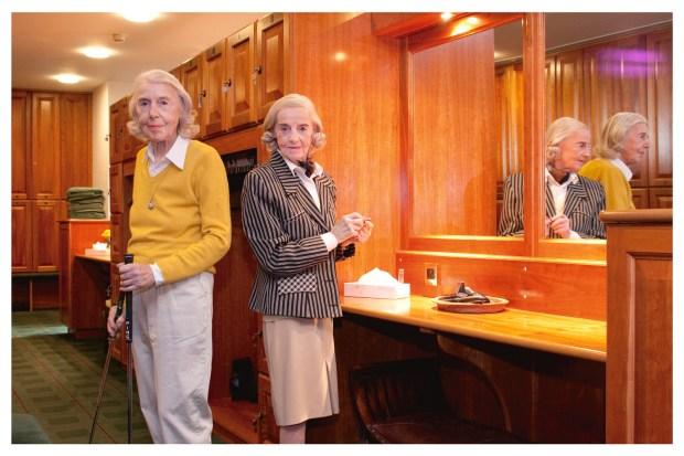 Golfing-Sisters-by-Anita-Corbin-