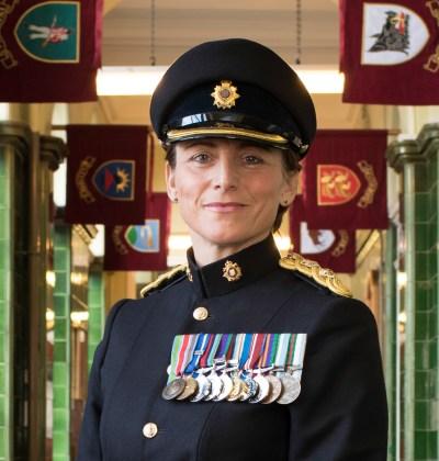Lieutenant Colonel Lucy Giles