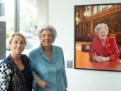 Betty Boothroyd and Anita Corbin