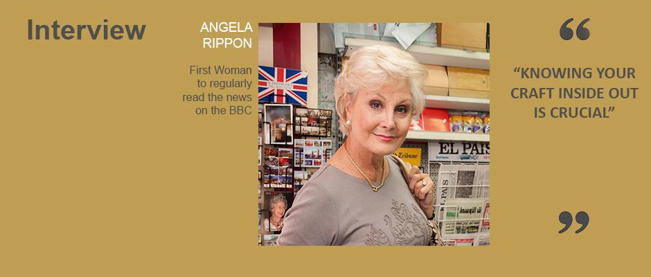 Interview Angela Rippon