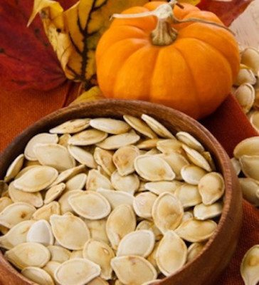 Picture of a pumpkin seeds