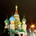 Spectacular St. Basil's Cathedral, Moscow