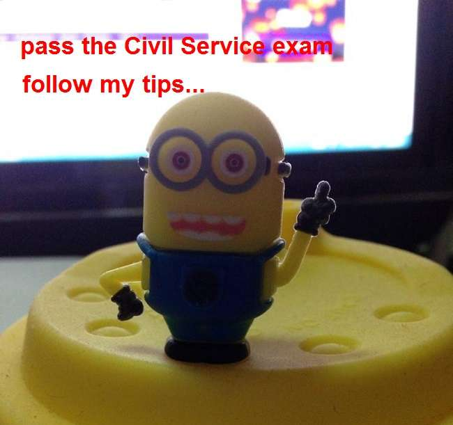 tips in passing the civil service exam