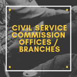 list of civil service commission offices branches