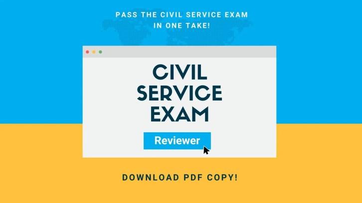 civil service exam reviewer philippines