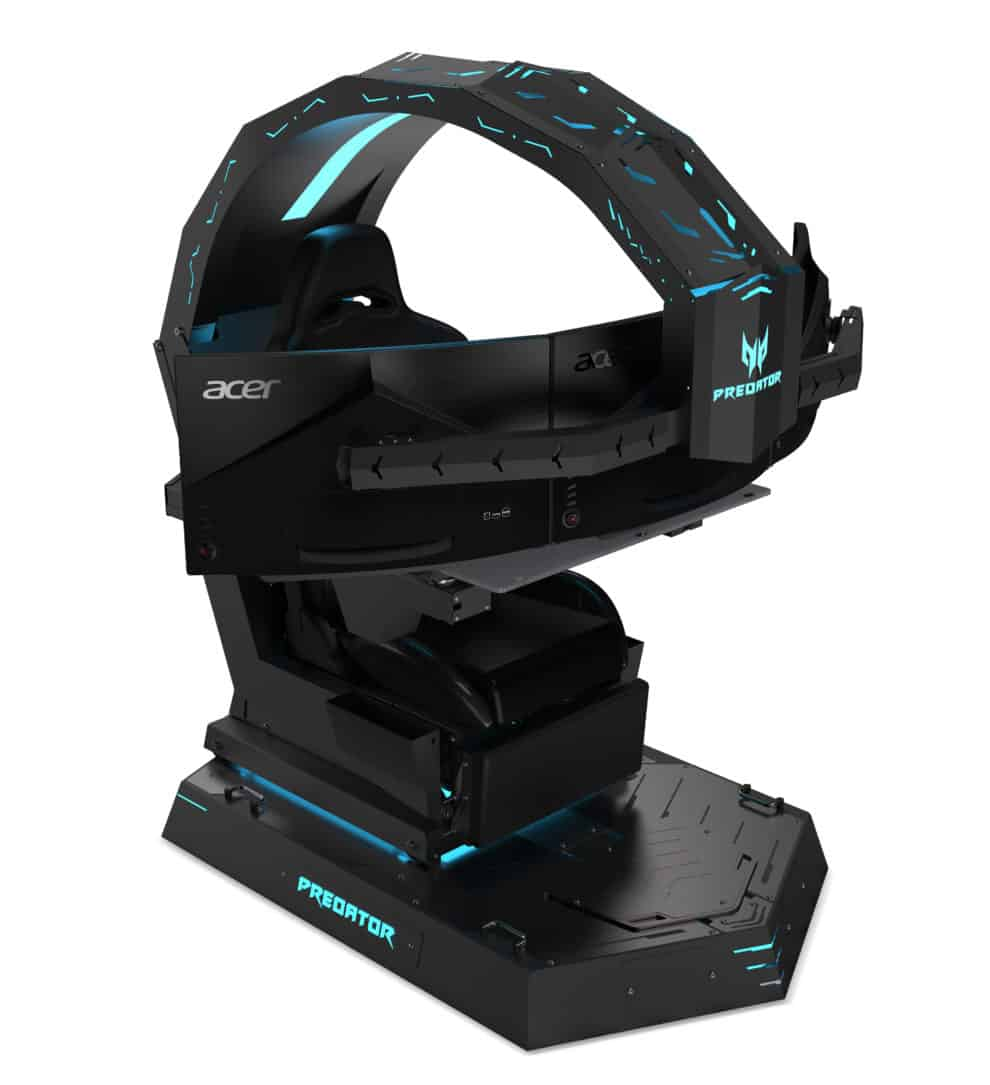 Cloud 9 Gaming Chair The Acer Predator Thornos Gaming Chair Is For The Hardcore Bwone