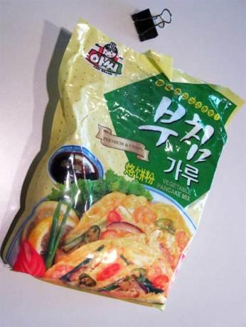 mix for savory Korean pancakes