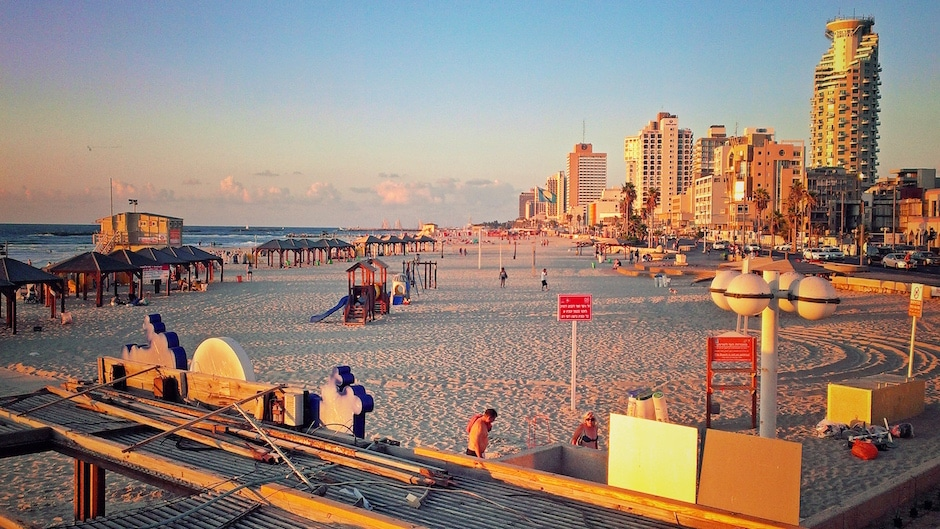 Tel Aviv Sonnenuntergang