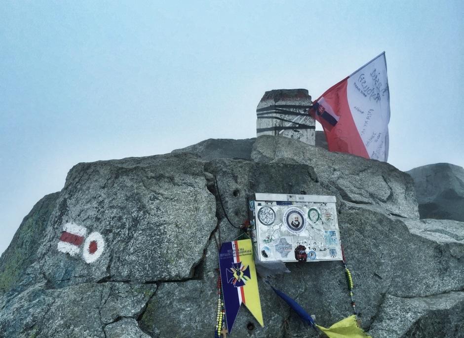 Hohe Tatra Rysy Gipfel