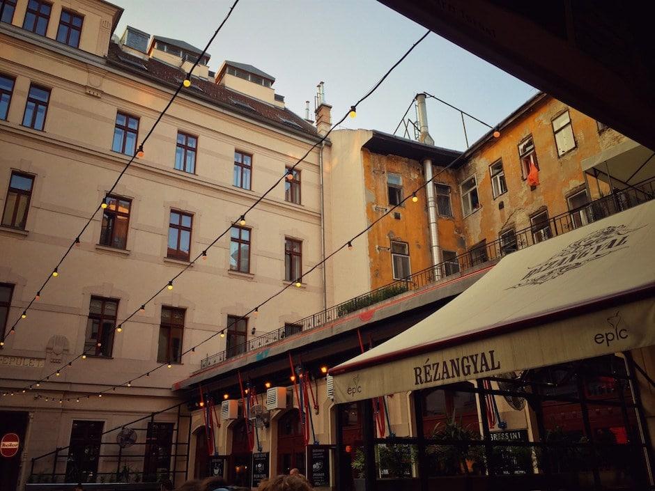 Budapest Gozsdu Udvar
