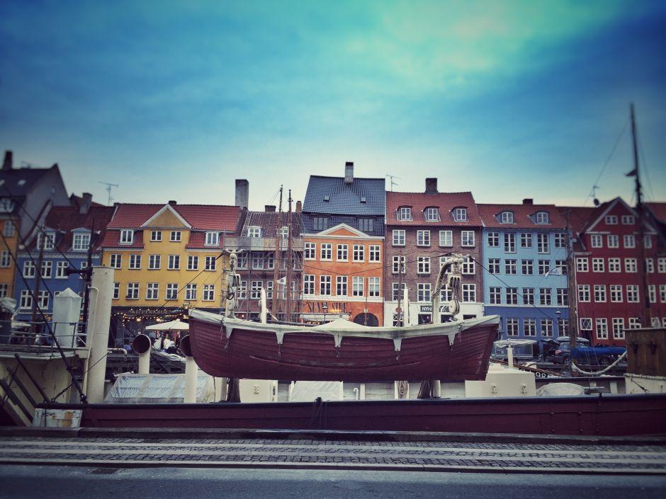Kopenhagen Nyhavn Boot