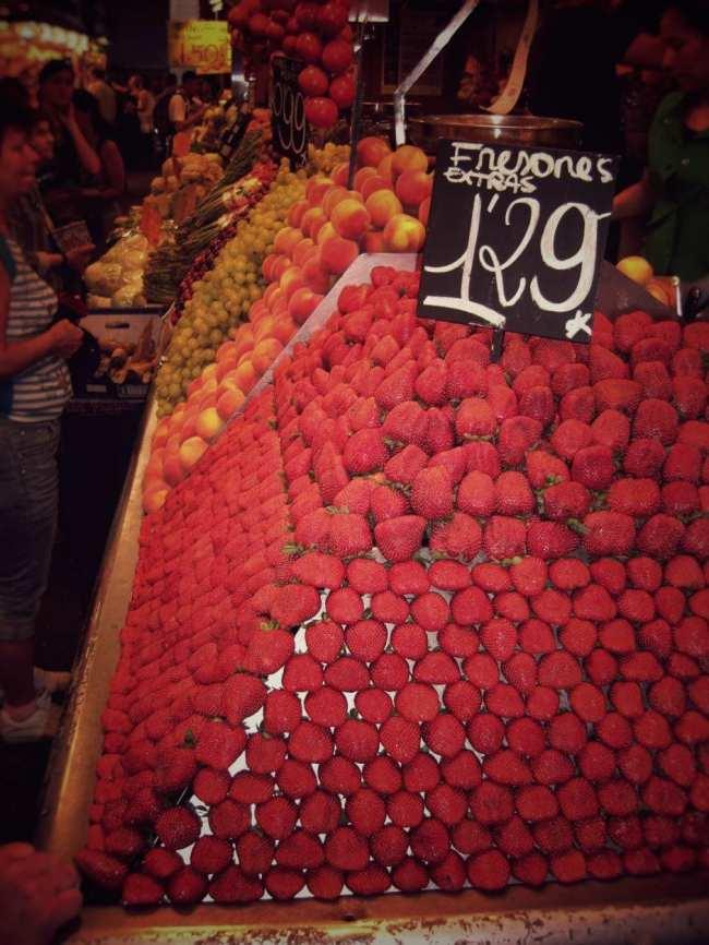 Barcelona Markt La Boqueria