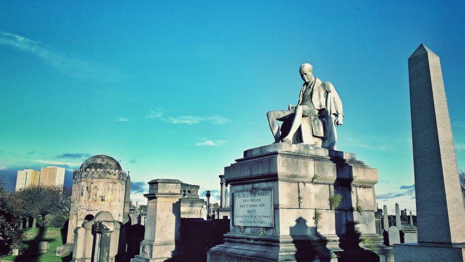 Glasgow Necropolis Grabstein