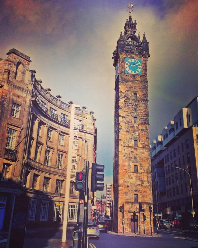 Glasgow Tolbooth Tower