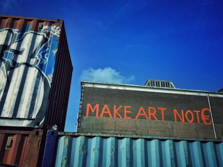 NDSM_Make Art not Euro_1 THING TO DO