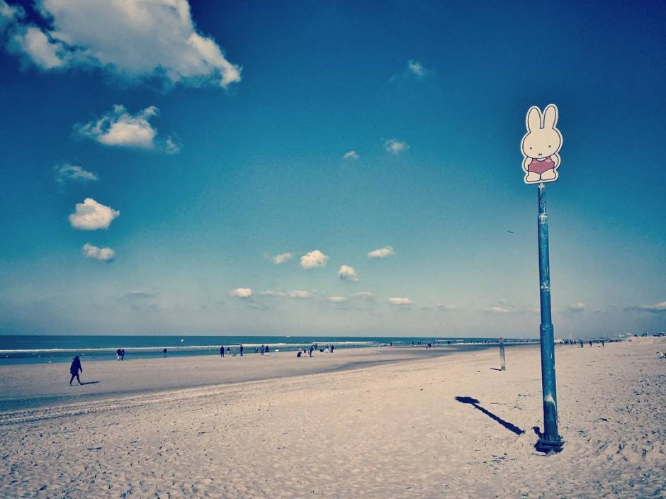 Zandvoort im Winter Strand
