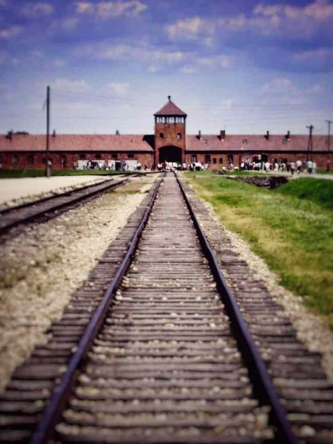 Auschwitz_Gleise_1 THING TO DO