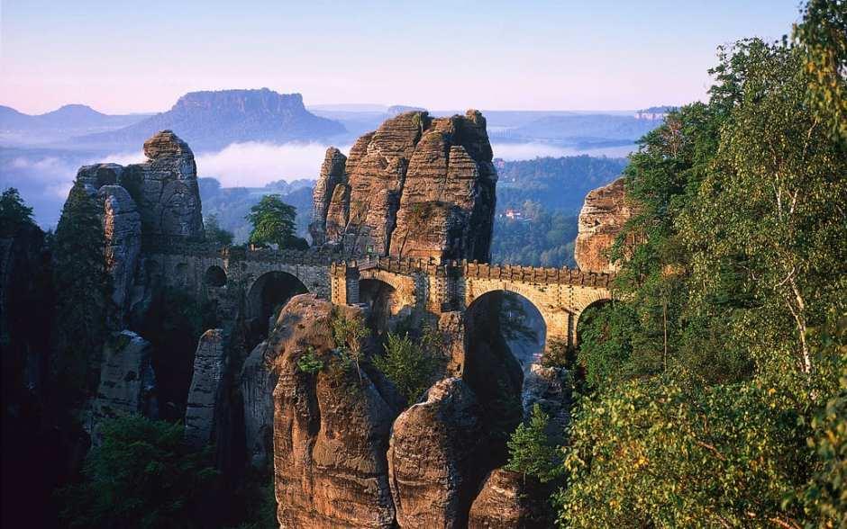 Einzigartige Reiseziele Ostdeutschland