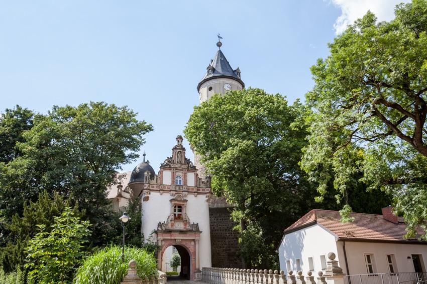 Ein beliebtes Ausflugsziel im Fläming ist die Burg Wiesenburg. Credits: Jedrzej Marzecki