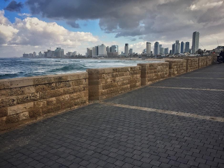Israel im Winter Tel Aviv
