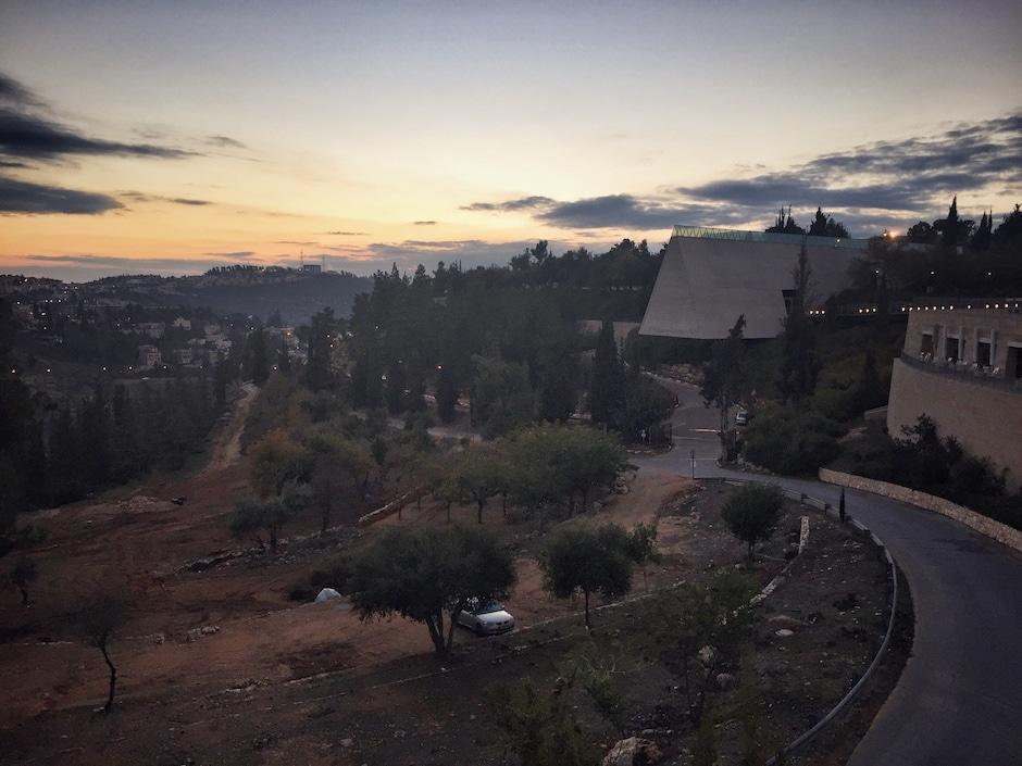 Israel im Winter Yad Vashem