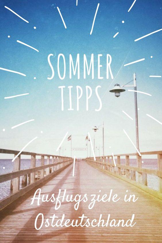 Deutschland Ausflugsziele Sommer