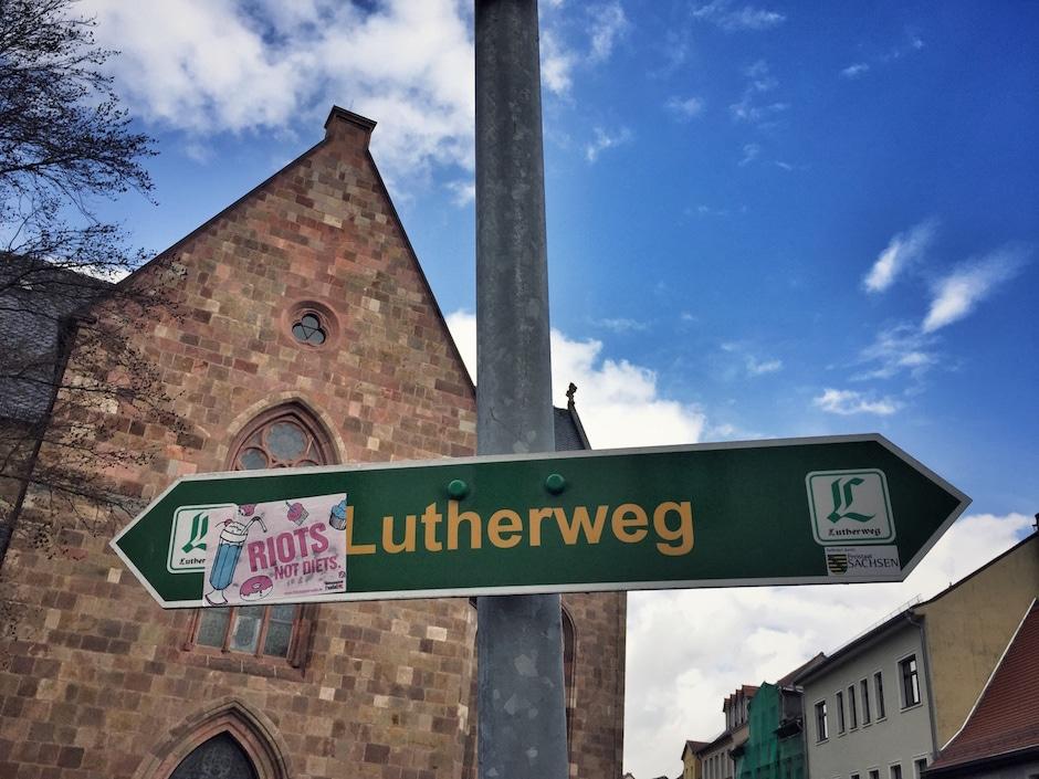 Lutherweg Sachsen