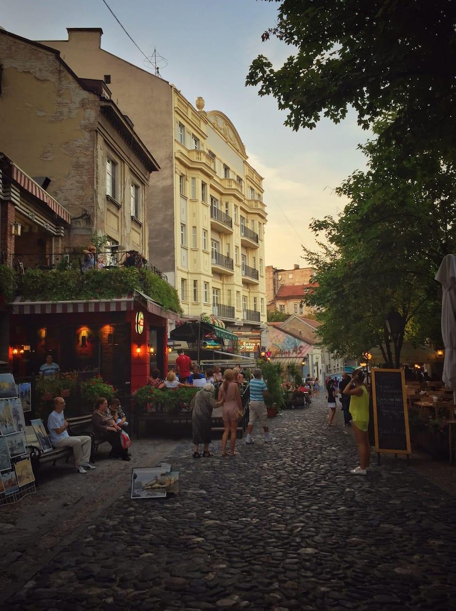 Belgrad Nachtleben
