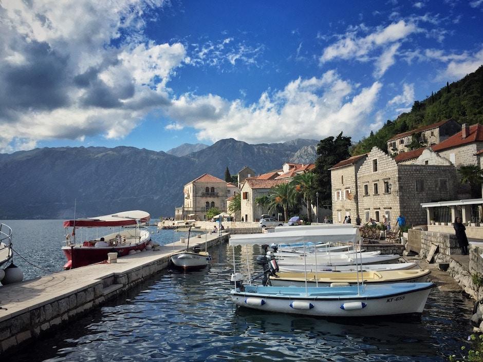 Perast Bucht von Kotor