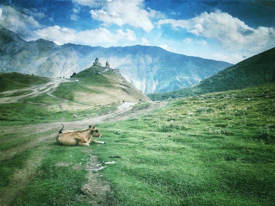 Kaukasus Rückblick