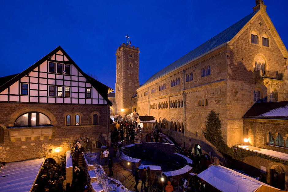 Besondere Weihnachtsmärkte Thüringen